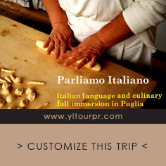 Parliamo Italiano - Italian language full immersion in Puglia