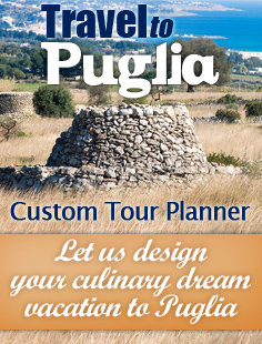 Travel to Puglia - Custom tour planner
